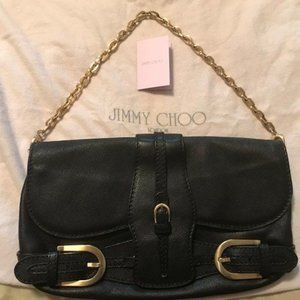 Jimmy Choo Camel Leather Handbag